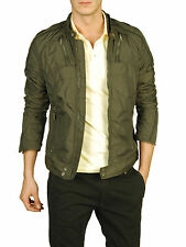 DIESEL JURLO MILITARY GREEN JACKET SIZE XL 100% AUTHENTIC