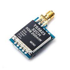 AKK TS5823 200MW 5.8G 32Ch Mini AV FPV Transmitter RP-SMA for FPV Multi-rotors