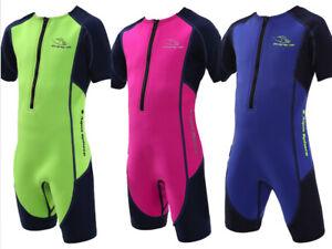 Aqua Sphere STINGRAY Neopren Shorty Schwimmanzug für Kinder UV Schutz