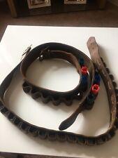 Vintage 12 Bore Cartridge Belts
