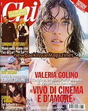 Italian Chi 9/08,Valeria Golino,Barack Obama,September 2008,NEW