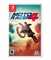 Moto Racer 4 Game For Nintendo Switch NS Motorbike Dirt Bike Arcade Racing