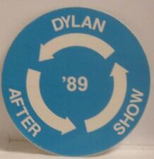 Bob Dylan - Original Concert Tour Cloth Backstage Pass *Last One*