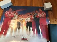 NASCAR 1986 reprint for 1993 Winston Cup Large Framable Poster NASCAR ATLANTA
