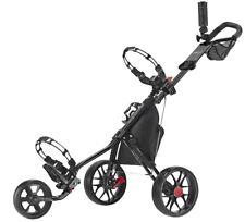 New listing CaddyTek Deluxe 3 Wheel Golf Push Pull Cart CaddyLite 11.5 V3 Black BRAND NEW!!!