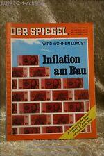 Der Spiegel 30/70 20.7.1970Inflation am Bau