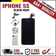 AAA+ LCD TOUCH SCREEN TACTILE/SCHERM/ÉCRAN ASSEMBLY BLACK NOIR FOR IPHONE 5S