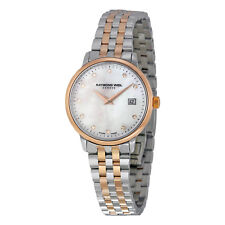 Raymond Weil Toccata Mother of Pearl Dial Two-tone Ladies Watch 5988-sp5-97081
