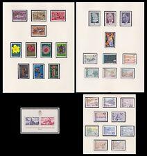 LIECHTENSTEIN 1972 ANNEE COMPLETE NEUVE** du N°499/531  , complete year set MNH