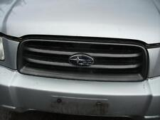 SUBARU FORESTER GRILLE GREY TYPE, VIN JF2SG..., XS, 07/02-08/03 02 03