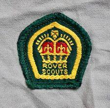 More details for boy scout badges - uk proficiency, district, rover king scout shirt, nz etc.