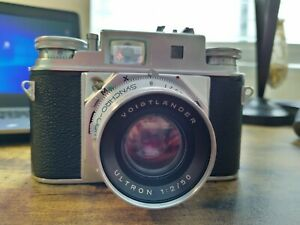 Voigtlander Prominent II with Ultron 50mm F2