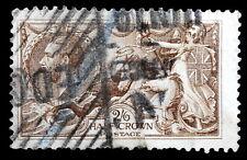 GB - 1913 : King George V - 2sh 6p dark brown , Perf 11x12, Scott# 173