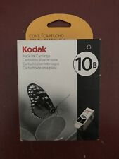 Genuine Kodak 10B Black Ink Cartridge Sealed New in Box