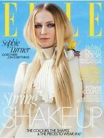 Sophie Turner ELLE UK Magazine April 2020: Spring Shake-Up