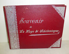 """Souvenir de La Haye & Scheveningue"" The Hague, Netherlands photo album c. 1900"