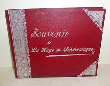 """Souvenir de La Haye & Scheveningue"" The Hague, Netherlands photo album c. 1900"