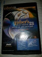 Taber's 21 Electronic Medical Dictionary Version 4.0 - DVD-ROM [Sealed]