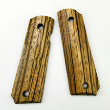 1 Paar Natural Cocobolo Wood Patches Griffschalen für 1911 Grips Modelle