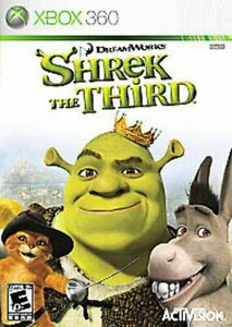Shrek The Third XBOX 360 Factory New and Sealed