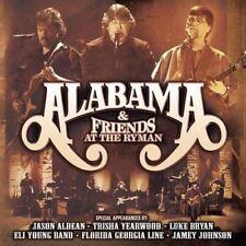 Alabama - Alabama & Friends at the Ryman [New & Sealed] 2 CDs