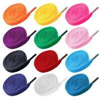 12 Pairs Shoelaces Colorful Flat Round Bootlace Sneaker Shoe Laces Shoe Strings