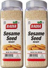 2 Pack Badia Sesame Seed Ajonjoli 16 oz 1 lbs each
