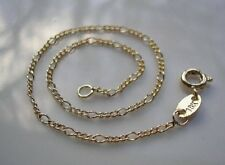 Ladies Solid 18ct Gold bracelet gf from 9ct gold bling CHEAPEST ON EBAY {0050}