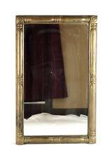Antique 19th Century American Federal Gold Gilt Gesso Wall Mirror