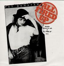 "PAT BENATAR All Fired Up  12"" Ps, 3 Tracks Inc Special Us Edit & Cool Zero"