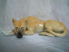 NYMPHENBURG Porzellan-Figur Hund Dt. Dogge #151 GREAT DANE PORCELAIN FIGURINE