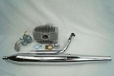 Kreidler Florett K54 RS 50ccm Rennsatz Tuning Zylinder Vergaser Auspuff  Set 3