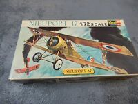 REVELL 1/72 SCALE PLASTIC CONSTRUCTION KIT NIEUPORT 17