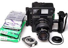 Polaroid 600 se immediatamente immagine Fotocamera + Mamiya 150mm f5.6 + 2x fp-100b MHD 2010