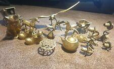 More details for vintage brass collection joblot