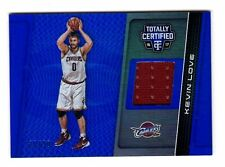 Kevin Love NBA 2016-17 Totally Certified Materials Azul/99 (Cleveland Cavaliers
