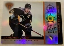 2000-01 Pacific Private Stock Titanium 3-Star Selections 178/1100 Jaromir Jagr