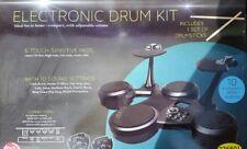 Clifton E-Drum Electronic Set - 6 Touch Sensitive Pads Pédales + baguettes