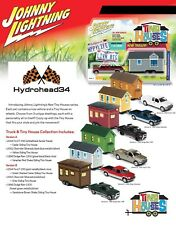 Johnny Lightning 2017 Tiny Houses 1A & 1B Set Total 6 trucks & Tiny H- 17Y