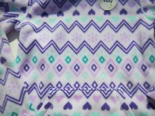 NWT Jumping Beans Girls Geometric Designs Hooded Fleece sz 4 colorful