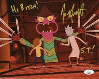 "Jess Harnell Autograph Signed 8x10 Photo - Rick & Morty ""Scary Terry"" (JSA COA)"