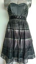 $318 BCBG MAXAZRIA party dress size 6 --BRAND NEW-- Silk blend Stunning Designer