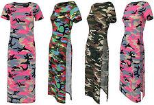 Unbranded Scoop Neck Short Sleeve Tunic Dresses for Women