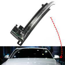 Left Side Wing Mirror LED Turn Signal Fit For AUDI A6 C6 A8 4E D3 Q3 A3 A4 A5