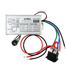 DC 9-60V 20A Motor Speed Control PWM Controller Stepless Variable 25kHz Switch