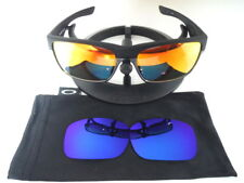 New Authentic Oakley Twoface Sunglasses OO9256-09 + Blue Galaxy Polarized Lenses