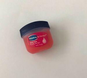 Vaseline Pure Jelly 2 X 7g Rosy Lips Mini Petroleum Pocket Size