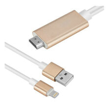 UK Lightning to HDMI Cable AV To TV Cable HDMI 1080P USB Charger For iPhone iPad