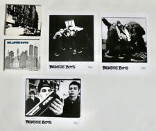 Beastie Boys press photos lot and 5 Burroughs and Anthology Cd sets