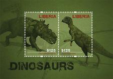 Liberia - 2012 - DINOSAURS - Souvenir Sheet - Stamp - MNH
